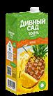 Упаковка 1 литр, напиток Дивный Сад со вкусом - Ананас