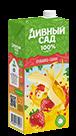 Упаковка 1 литр, напиток Дивный Сад со вкусом - Клубника-Банан