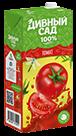 Упаковка 2 литра, напиток Дивный Сад со вкусом - Томат