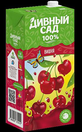 Упаковка 2 литра, напиток Дивный Сад со вкусом - Вишня