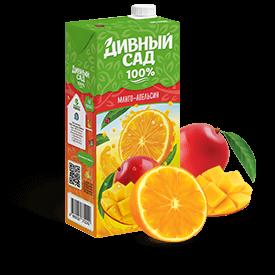 Напитки Дивный Сад, вкус - Апельсин-Манго