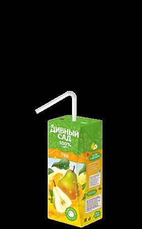 Упаковка 200 мл., напиток Дивный Сад со вкусом - Груша