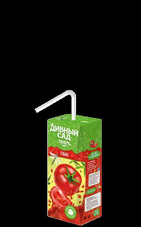 Упаковка 200 мл., напиток Дивный Сад со вкусом - Томат