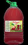Яблочно-вишневый безалкогольный напиток, упаковка ПЭТ 5 литров