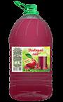 Яблочно-малиновый безалкогольный напиток, упаковка ПЭТ 5 литров
