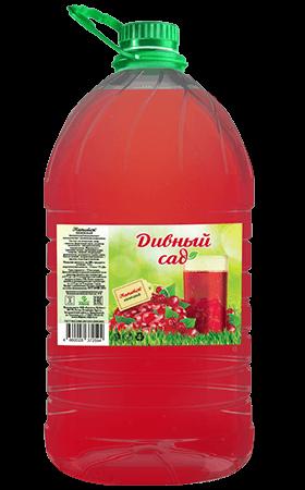 Кизиловый безалкогольный напиток, упаковка ПЭТ 5 литров