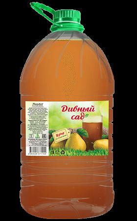 Напиток из груши-дички, упаковка ПЭТ 5 литров