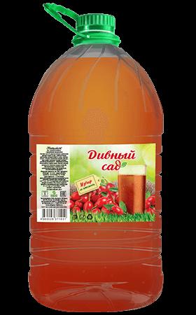 Напиток из шиповника, упаковка ПЭТ 5 литров