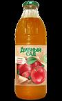 Напиток из кубанских яблок в стеклянной бутылке 1 литр