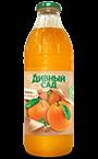 Напиток апельсиновый в стеклянной бутылке 1 литр
