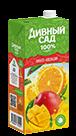 Упаковка 1 литр, напиток Дивный Сад со вкусом - Апельсин-Манго