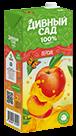 Упаковка 2 литра, напиток Дивный Сад со вкусом - Персик