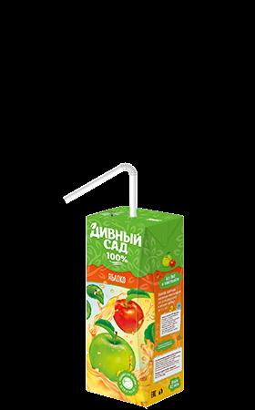 Упаковка 200 мл., напиток Дивный Сад со вкусом - Яблоко