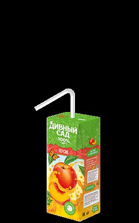 Упаковка 200 мл., напиток Дивный Сад со вкусом - Персик