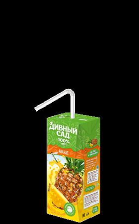 Упаковка 200 мл., напиток Дивный Сад со вкусом - Ананас